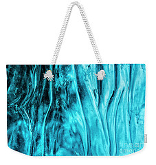 Weekender Tote Bag featuring the photograph Frozen Wonder by Sandra Bronstein