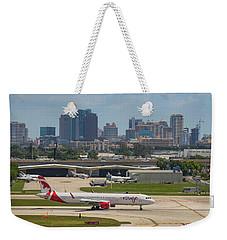 Frt Lauderdale Airport/city Weekender Tote Bag