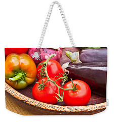 Fruit And Vegetables Weekender Tote Bag