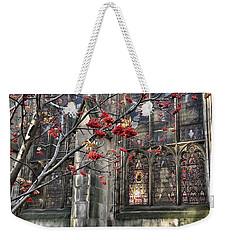 Fruit By The Church Weekender Tote Bag by RKAB Works