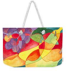 Fruit Montage Weekender Tote Bag