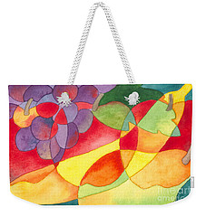 Fruit Montage Weekender Tote Bag
