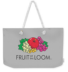 Fruit Of The Loom T-shirt Weekender Tote Bag