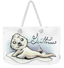 Fruit Of The Spirit Gentleness Weekender Tote Bag