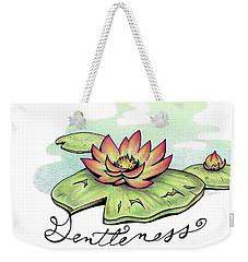Fruit Of The Spirit Series 2 Gentleness Weekender Tote Bag