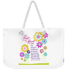 Fruit Of The Spirit Weekender Tote Bag