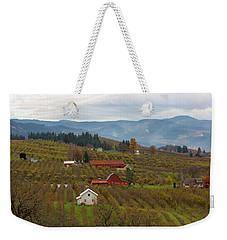 Fruit Orchard Farmland In Hood River Oregon Weekender Tote Bag