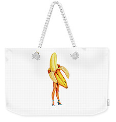 Fruit Stand - Banana Weekender Tote Bag by Kelly Gilleran