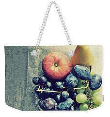 Fruitful Autumn Weekender Tote Bag