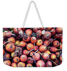 Weekender Tote Bag featuring the photograph Fruits And Vegetable At Farmer Market by Jingjits Photography