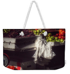 Weekender Tote Bag featuring the photograph Fruits Of Autumn - New York by Miriam Danar
