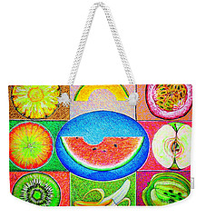 Fruits Weekender Tote Bag by Viktor Lazarev