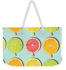 Fruity Weekender Tote Bag by Mark Ashkenazi