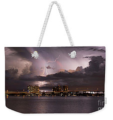 Ft Myers Nights Weekender Tote Bag