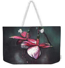 Fuchsia And Dew  Weekender Tote Bag
