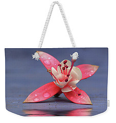 Fuchsia And Reflection Weekender Tote Bag