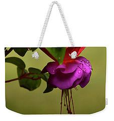 Fuchsia Fuchsia Weekender Tote Bag by Ann Bridges