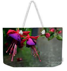 Fuchsia Original Photo Weekender Tote Bag