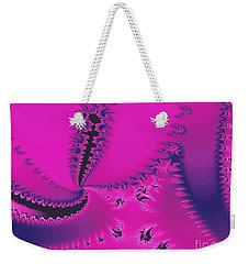 Fuchsia Twilight Weekender Tote Bag