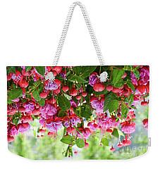 Fuchsia Weekender Tote Bag