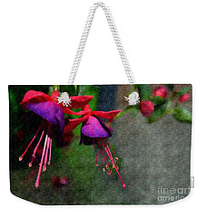 Fuchsia's Beating As One Together -silk Edit Weekender Tote Bag