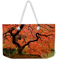 Fuego Weekender Tote Bag by Don Schwartz