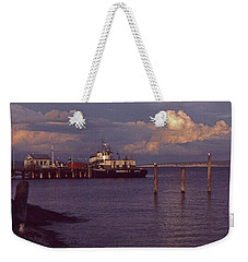 Fuel Dock, Port Townsend Weekender Tote Bag