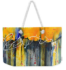 Fueled By The Wind Weekender Tote Bag by Nancy Jolley