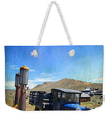 Fuelin' Up Weekender Tote Bag by Laurie Search