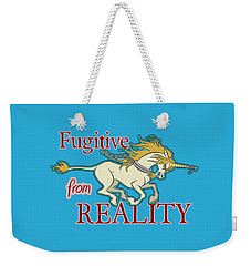 Fugitive Unicorn Weekender Tote Bag