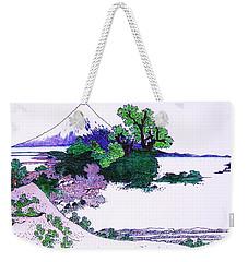Fuji Yoshido Weekender Tote Bag by Roberto Prusso