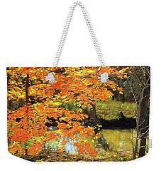 Full Autumn Bloom Weekender Tote Bag