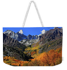 Full Autumn Display At Mcgee Creek Canyon In The Eastern Sierras Weekender Tote Bag