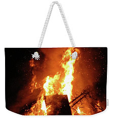 Full Bonfire Weekender Tote Bag