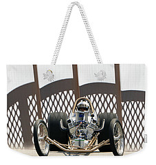 Weekender Tote Bag featuring the photograph Full Frontal Slingshot by Christopher McKenzie