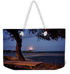 Full Moon At Inlet Watch Weekender Tote Bag