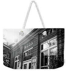 Weekender Tote Bag featuring the photograph Full Moon Cafe by David Sutton