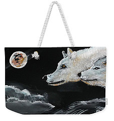 Full Moon Weekender Tote Bag by Carole Robins