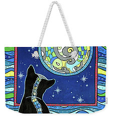 Pisces Cat Zodiac - Full Moon Weekender Tote Bag