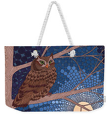 Full Moon Illumination Weekender Tote Bag