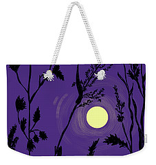 Full Moon In The Wild Grass Weekender Tote Bag