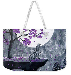 Full Moon Magic Weekender Tote Bag