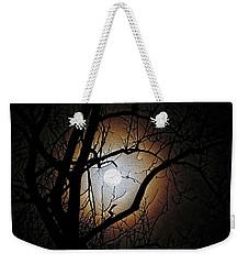 Full Moon Oil Painting Weekender Tote Bag