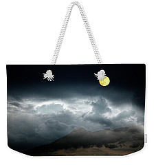Full Moon Over Borrego Weekender Tote Bag by Hugh Smith