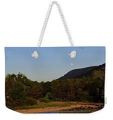 Full Moon Over Hunter West Weekender Tote Bag