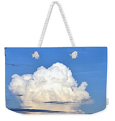 Full Moon Rising Over Blue Ridge Weekender Tote Bag by Gary Smith