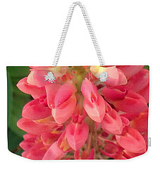 Weekender Tote Bag featuring the photograph Full Of Heart by Christina Verdgeline