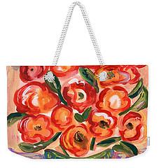 Full Of Jolly Colors Weekender Tote Bag