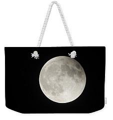 Full Planet Moon Weekender Tote Bag