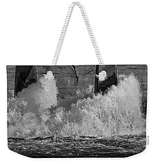 Weekender Tote Bag featuring the photograph Full Power by Thomas Young